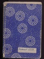 Cover of Cleofe Calderon's field book, Brasil 1974