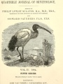 "Title page of ""The Ibis, Series 5, v. 2"""